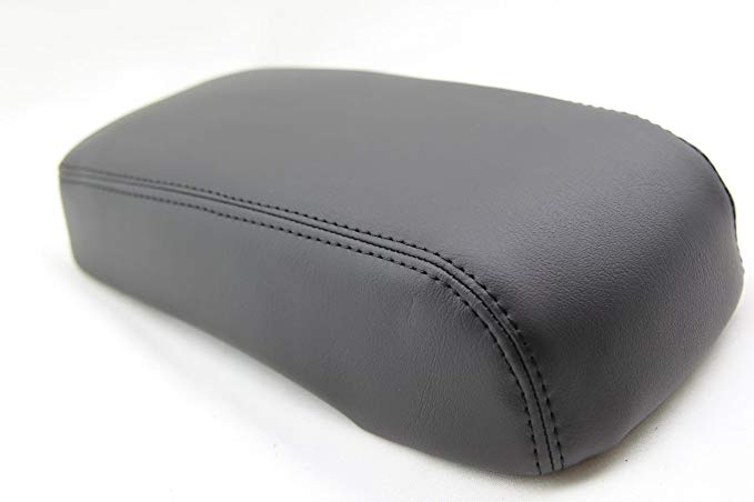 Hummer H3 Center Console Armrest Synthetic Leather Cover Black For 05-11